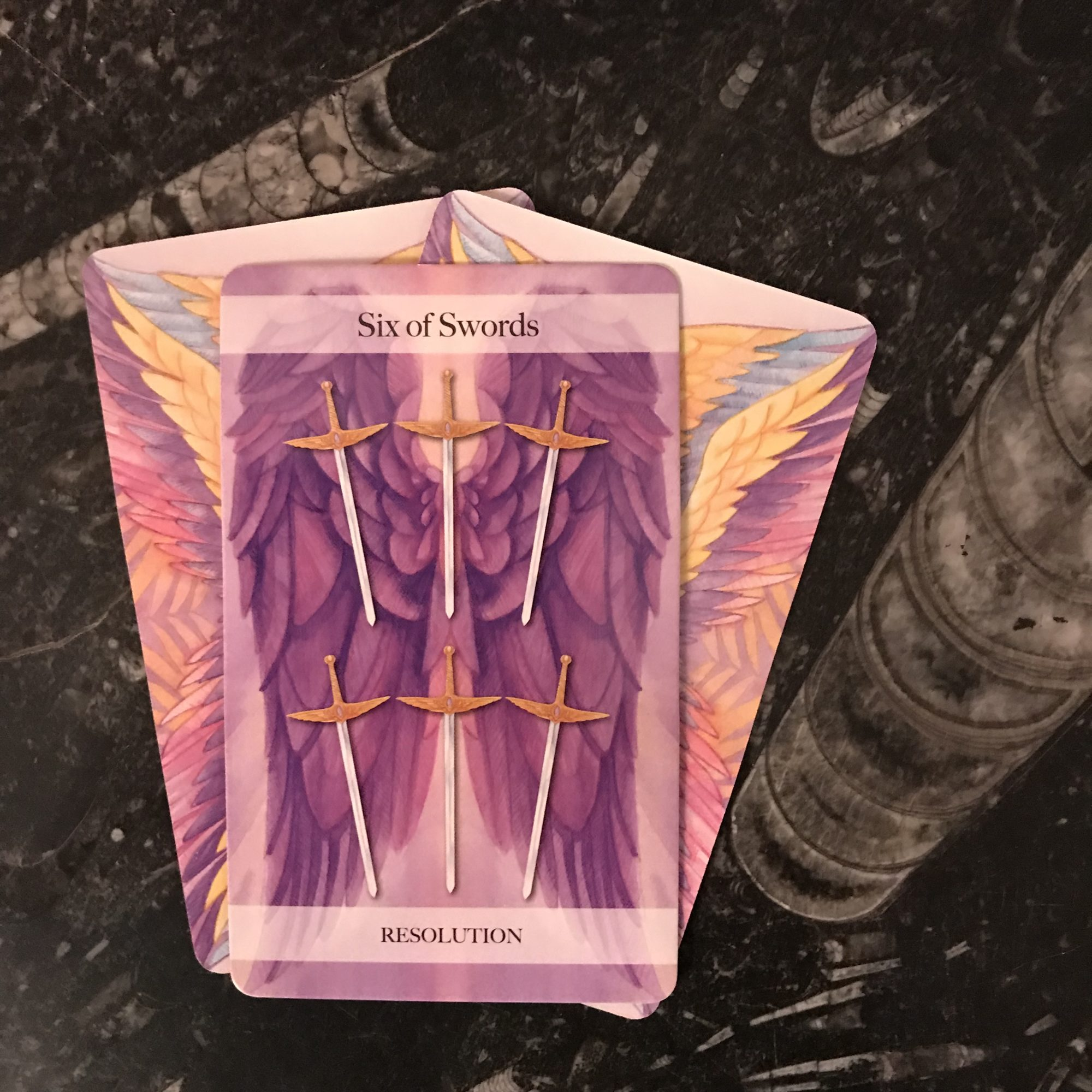 Angel Tarot Course - Six