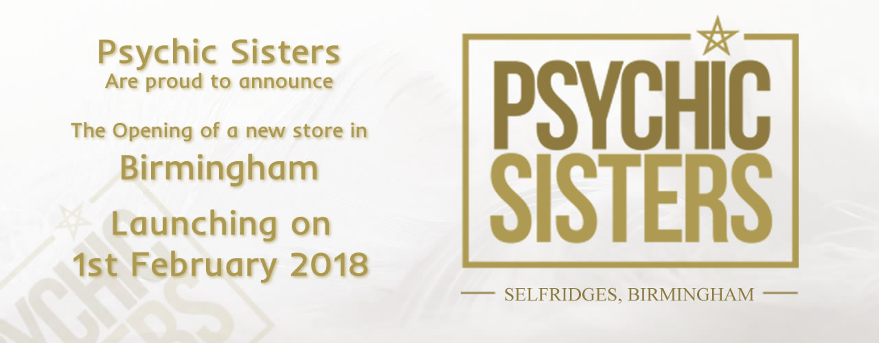 Jayne Wallace and the Psychic Sisters, Selfridges, London, Aura Reading, Clairvoyance Reading to Launch New Store in Birmingham