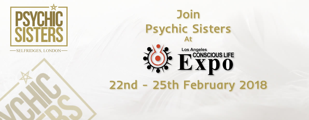 Jayne Wallace and the Psychic Sisters, Selfridges, London, Aura Reading, Clairvoyance Reading at the Concious Life Expo