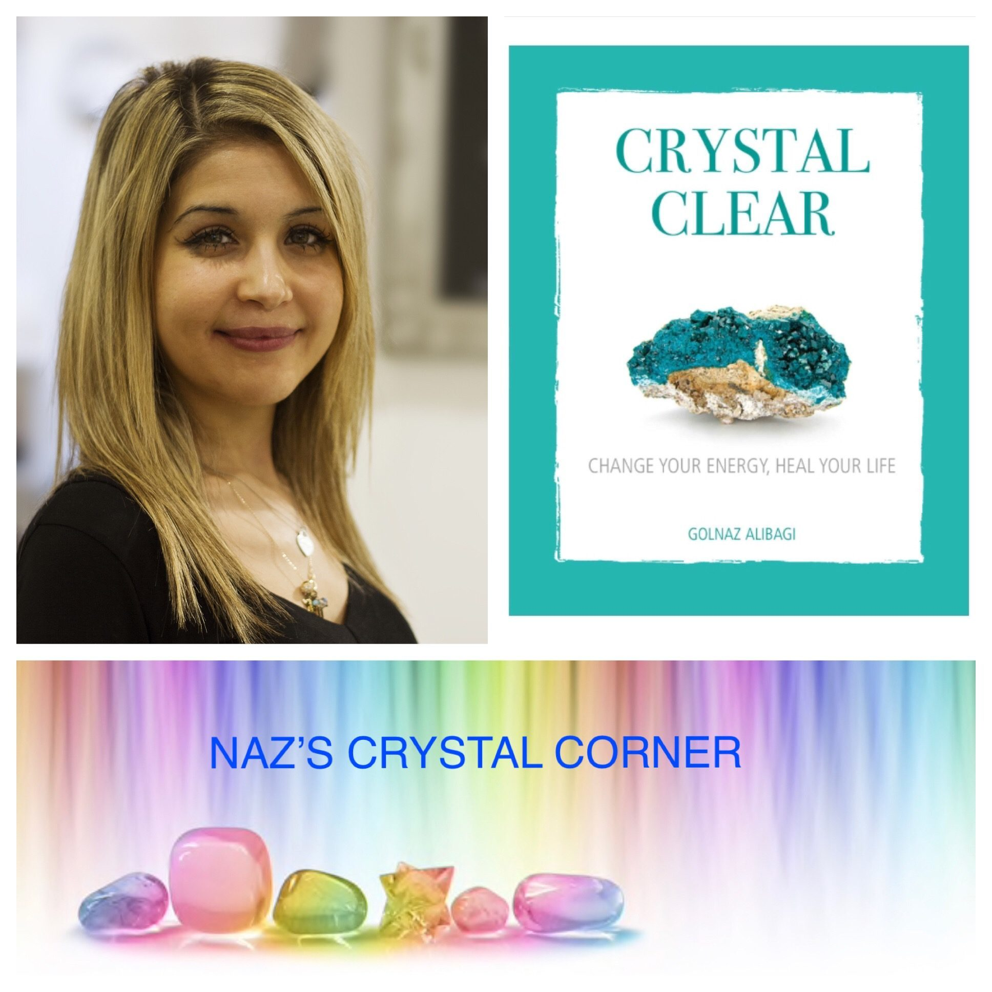 Naz's crystal horoscopes 31st March - 6th April 2019