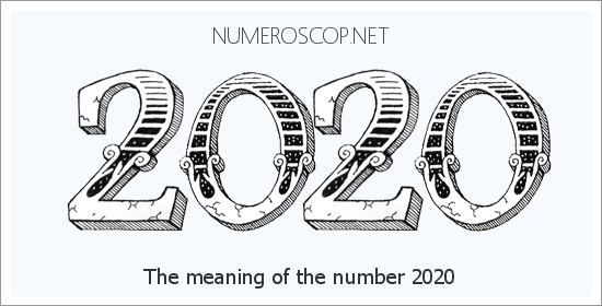 Numerology for 2020