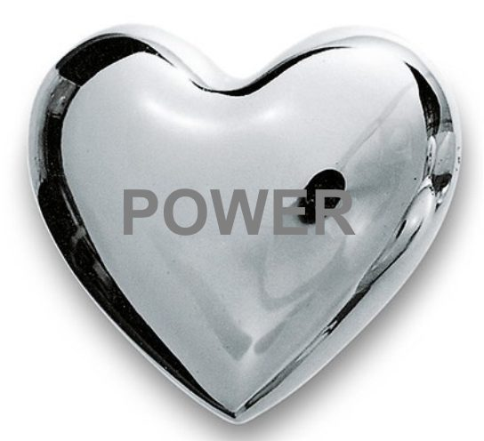 POWER WISHING HEART